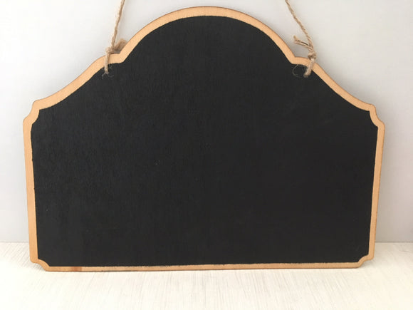 Portacraft Chalkboard Hanging Double Sided 260mm x 190mm