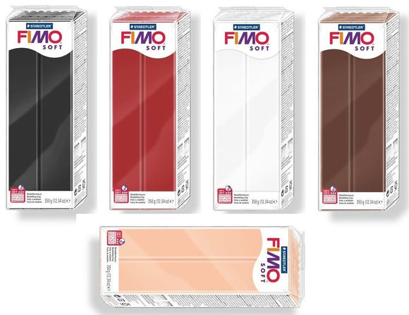 FIMO Soft Polymer Clay 454G Large Block
