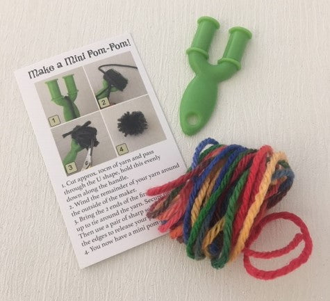 Mini Pom Pom Maker Kit