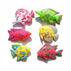 Bathtime Fishing Fun - 7 Piece Magnetic Fishing Toy Set for Fun in the Pool and the Bath