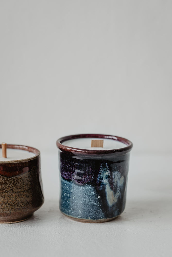 ceramic candle collection