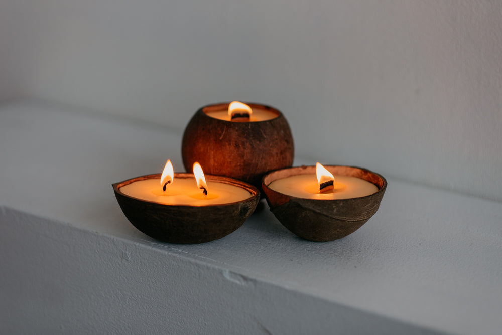 beeswax deodorizing candles