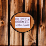 caribbean teakwood candle