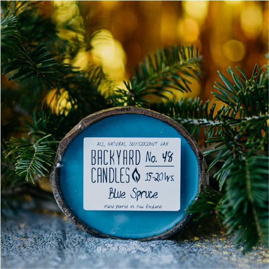 Load image into Gallery viewer, blue spruce candle scent