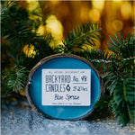 blue spruce candle scent