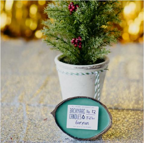 christmas tree candle scent