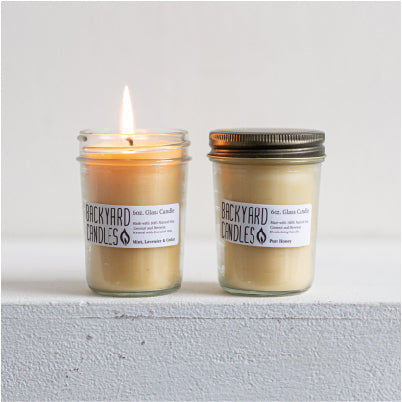 Load image into Gallery viewer, jelly jar beeswax candles