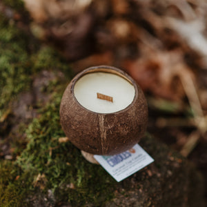 12oz Coconut Cup Beeswax Candle