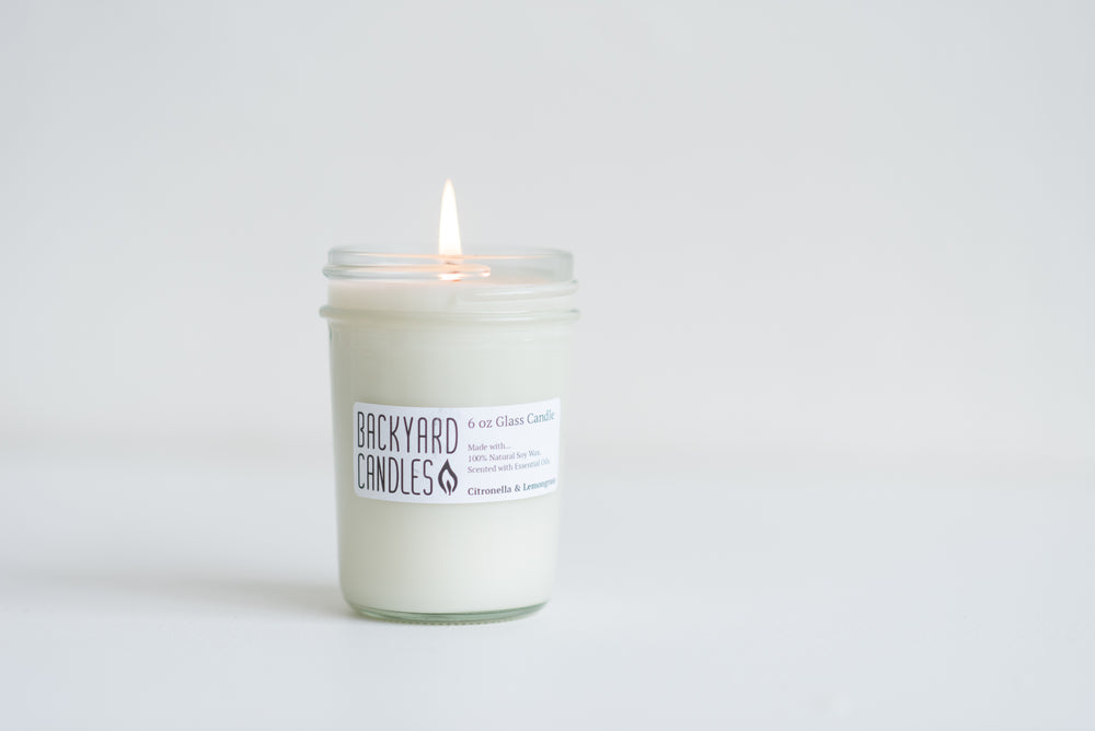 Load image into Gallery viewer, citronella essential oil candle