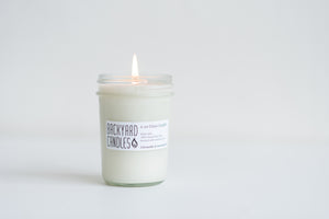 citronella essential oil candle