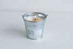 mosquito repellent tin candle