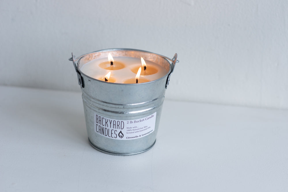 natural mosquito repellent soy candle