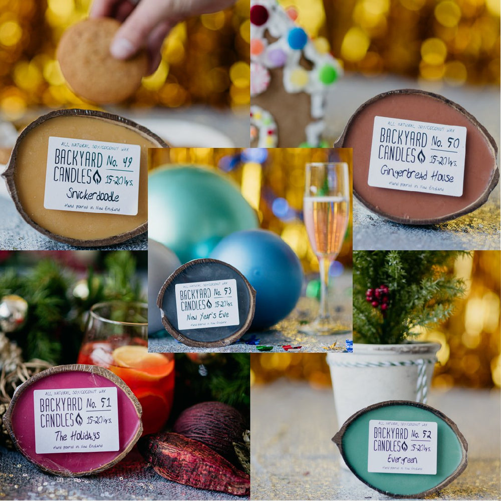 Load image into Gallery viewer, December candle gift set