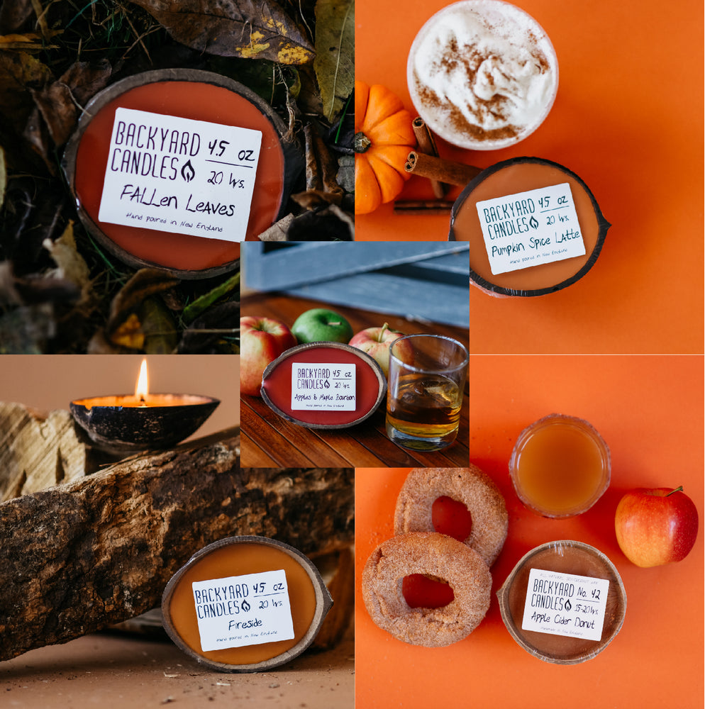 October Candle Gift Set