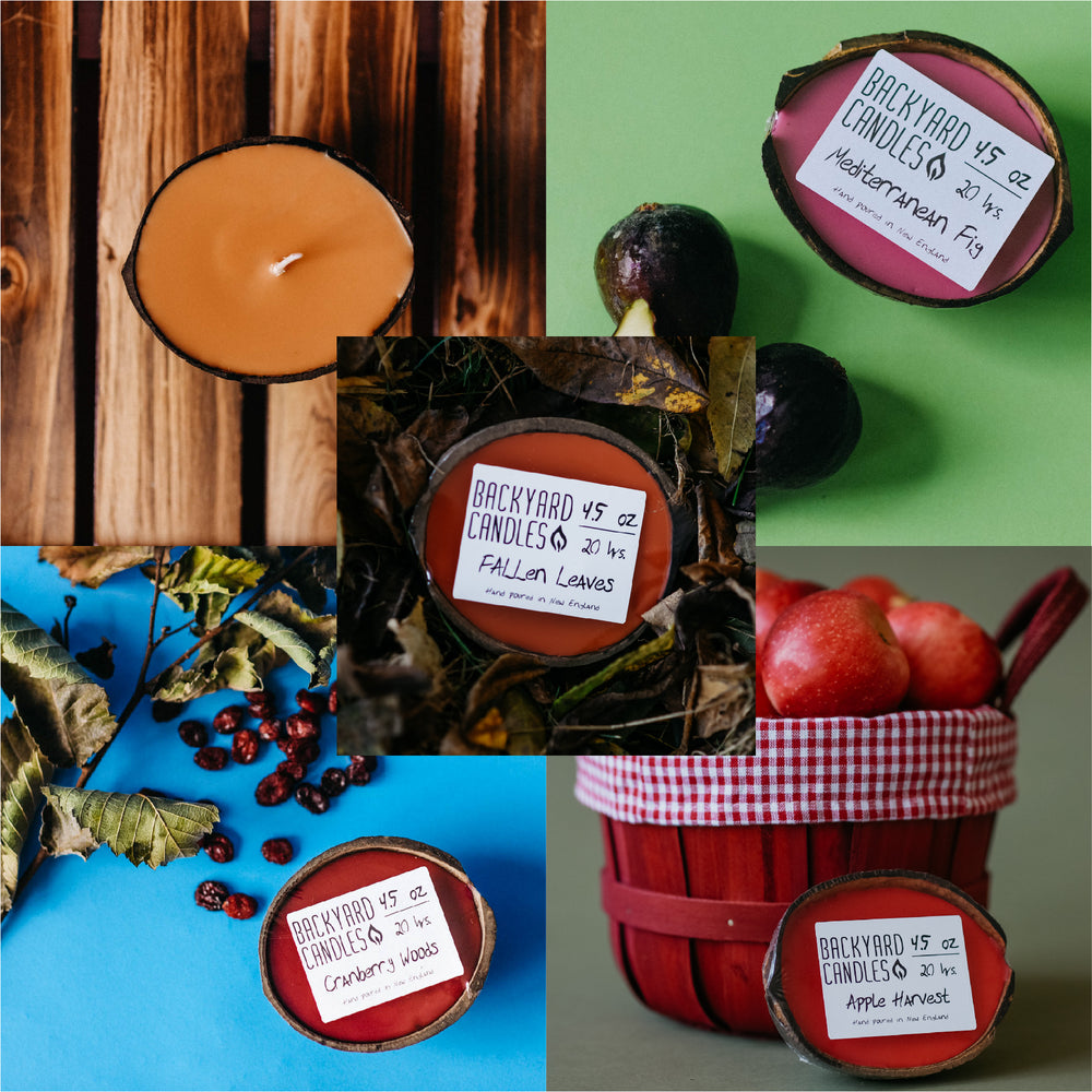 September Candle Gift Set