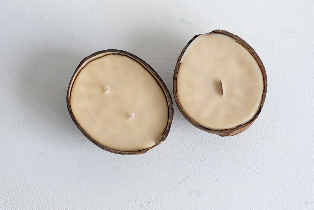 7oz Coconut Shell Candle
