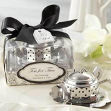 Tea for Two Teapot Tea Infuser Kitchen Tea Bridal Shower Favour