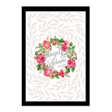 The Ethereal Garden Series Personalised Wedding Guest Book Alternative - Nice White