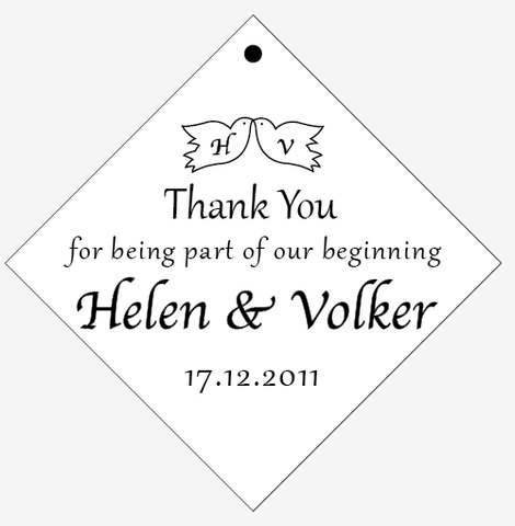 0d45da3c18cd9 Thank You Tags & Stickers | Wedding Stickers | Personalized Gift ...