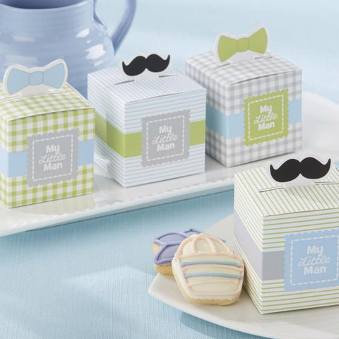 My Little Man Boy Baby Shower Favour Box Set Of 6