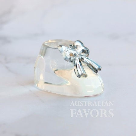 Crystal Baby Bootie Baby Shower Christening Bomboniere - AUSTRALIAN FAVORS