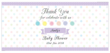 Cute As A Button Personalised Napkin Band Baby Shower Baptism Supplies - AUSTRALIAN FAVORS