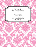 Damask Kitchen Tea Bridal Shower Tea Bags Personalised Favour - AUSTRALIAN FAVORS