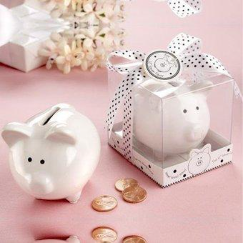 Lil Saver Mini Piggy Bank Baby Shower Favour - AUSTRALIAN FAVORS