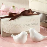 Love Birds Salt & Pepper Shakers Wedding Bomboniere - AUSTRALIAN FAVORS