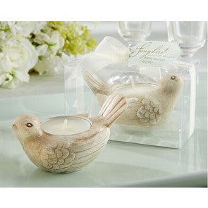 Love Dove Tealight Candle Holder Garden Wedding Favour - AUSTRALIAN FAVORS