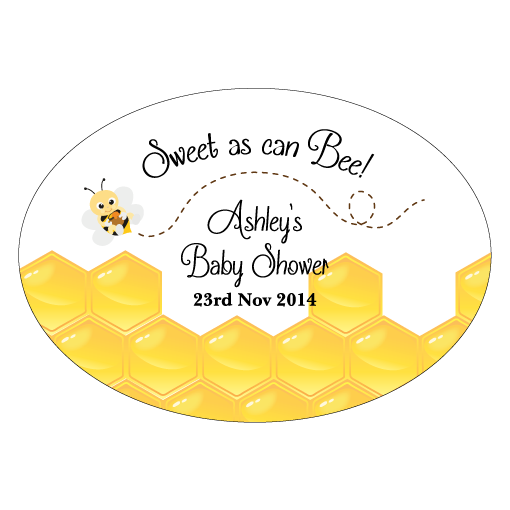 Mummy to Bee Bumblebee Envelope Seal 1st Birthday Personalised Party Supplies - AUSTRALIAN FAVORS
