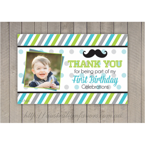 My Little Man' Personalized Giant Party Banner Boy's Party Decoration - AUSTRALIAN FAVORS