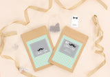 My Little Man Boy Baby Shower Baptism Personalised Tea Bag Favour - AUSTRALIAN FAVORS