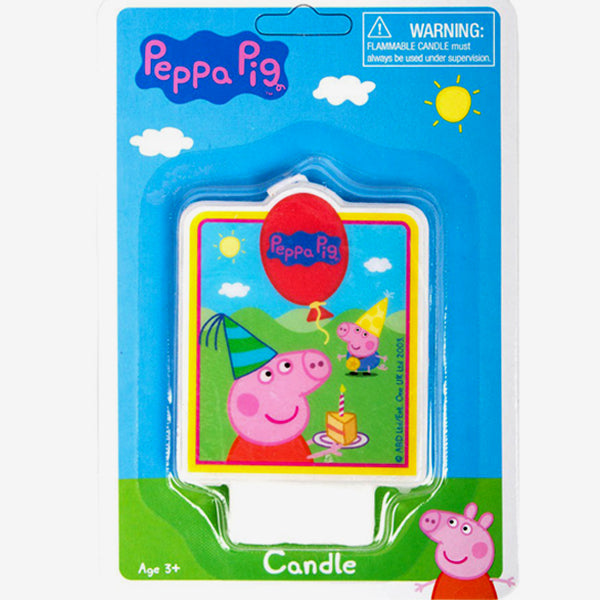 Peppa Pig Baby's First Birthday Party Candle Birthday Cake Decoration