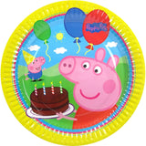 Peppa Pig Paper Plates Baby's First Birthday Party Supplies (Pack of 8)