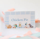 Peter Rabbit: Pastel Baby Shower Party Food Labels (Set of 6) - AUSTRALIAN FAVORS