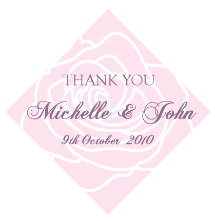 Thank You Tags Stickers Wedding Stickers Personalized Gift