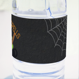 Witches' Brew Halloween Party Personalised Water Bottle Label