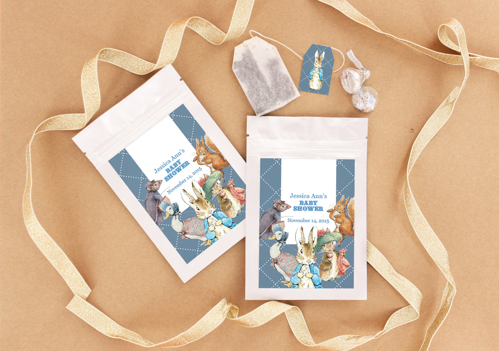 Australian Favors Peter Rabbit Baby Shower-Edible Favours Ideas
