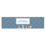 Peter Rabbit: Blue Customized Water Bottle Labels First Birthday Party Supplies - AUSTRALIAN FAVORS