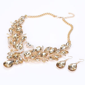 New Fashion Crystal Jewelry Set