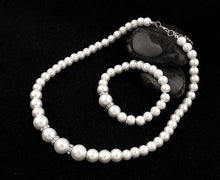 Fashion Classic White Jewelry Set