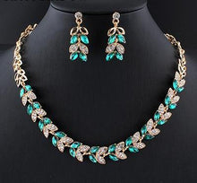New  Charming Crystal Jewelry Set
