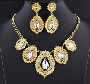 2018 Gold/Silver Popular Jewelry Set