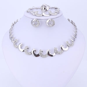 New Classic Crystal Jewelry Set