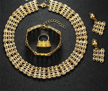 2018 Dubai African Jewelry Set