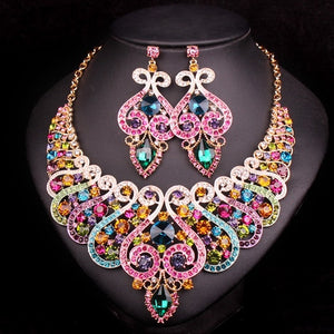 Fashion Luxury Bridal Jewelry Set