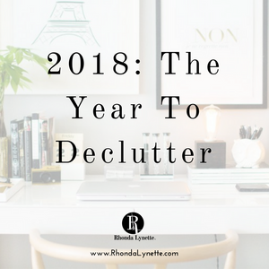 2018: The Year To Declutter