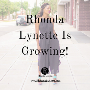Rhonda Lynette Is Growing!
