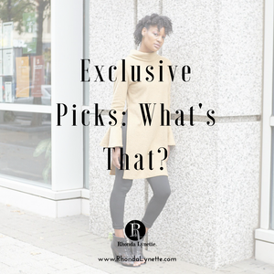 Exclusive Picks: What's That?